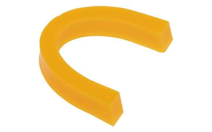 Bisswälle vorgeformt mit Aroma, gelb, weich, Zitrone