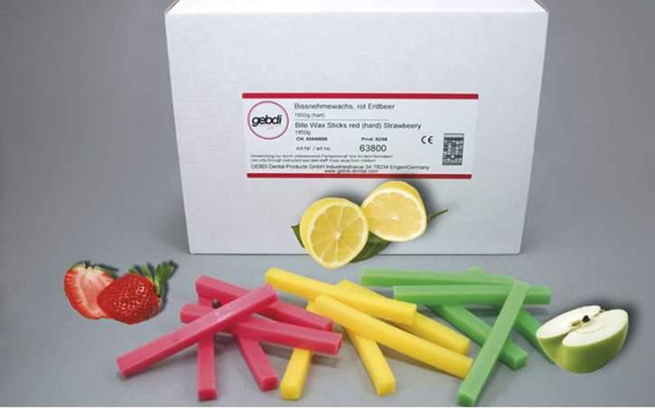 Bissnehmewachs mit Aroma, gelb, weich, Zitrone 490 g