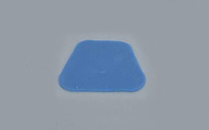 Lichthärtendes Löffelmaterial, blau